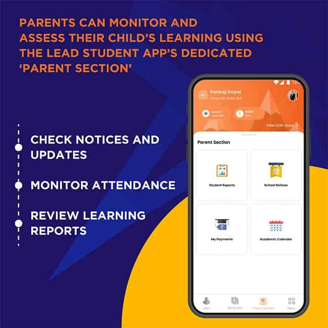 Parents section