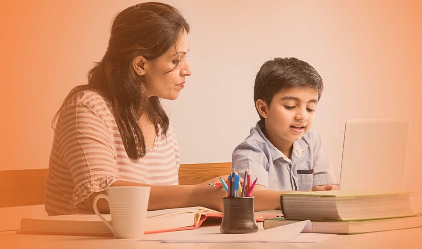 Participate in child education with digital classes
